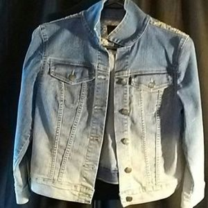 Jessica Simpson Light Washed Jean Jacket